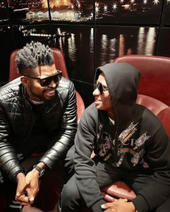 Basketmouth Hangs Out With Wizkid In Indigo at the 02, London (Photos)