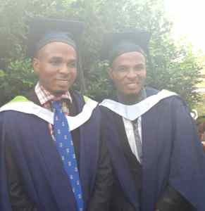 Identical Twins Graduate With First Class Honors From University of Ibadan (Photos)