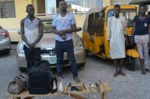 FCT Police Arrest Four 'One Chance' Suspects (Photo)