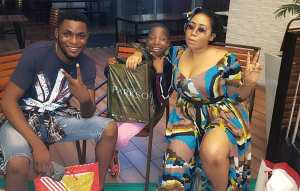 Emmanuella, Mark Angel & Moyo Lawal Pictured In A Mall In Malaysia (Photos)