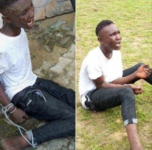 18-Year-Old Cultist Apprehended By Security Operatives In Bayelsa. (Photos)