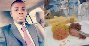 Nigerian man vows to stop going to big parties over the small rice served
