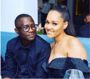 There Is No Trouble In Paradise – Tania Omotayo Defends Her Husband, Olasunmbo From Online Trolls