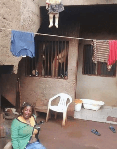 Baby Strangled In An Uncompleted Building As Mum Went Out To Buy Things (See Full Photo)