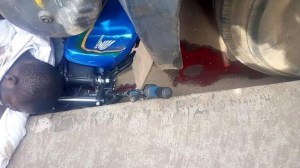 Motorcyclist Dies In Fatal Accident Few Weeks After His Weeding In Ondo (Graphic Photo)