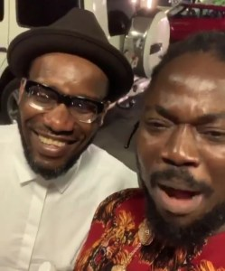 Daddy Showkey Hangs Out With JJ Okocha (Pictures)