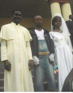LOL: Check Out What A Man Wore To His Wedding (Photo)