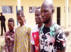 Security guard robs boss of N3million, set him ablaze in his car (Photo)