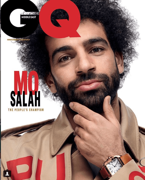 Liverpool Star, Mohamed Salah covers GQ Magazine (Photos)
