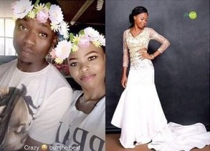 Student destroys boyfriend's properties after meeting another lady in his room (Photos)