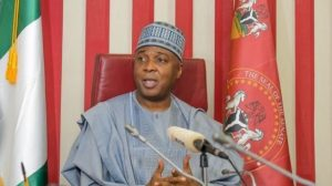 Aide reacts as crowd calls Bukola Saraki thief in Kwara