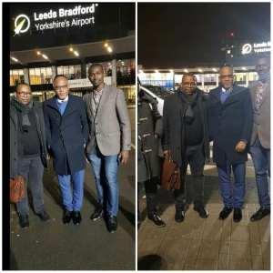 IPOB Leader, Nnamdi Kanu Permanently Relocates Back To The UK (Photos)