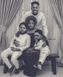 Check out this funny photo of Simi, Adekunle Gold and Falz. Don Jazzy reacts (Photo)