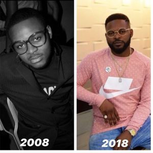 #10yearchallenge: Falz Shares 2008 – 2019 Throwback Photo