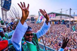If Not For My 2,000 Rented Crowd, Buhari Would Have Met An Empty Stadium – Gov. Umahi