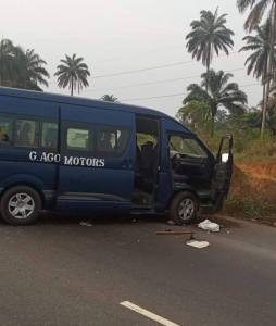 All Passengers Robbed And Kidnapped By Gunmen In Rivers State. (Photo)