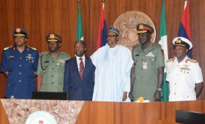 President Buhari Reveals Why He Hasn't Changed His Service Chiefs