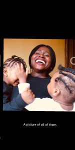 Nigerian lady and her kids declared missing in Lagos (photos)