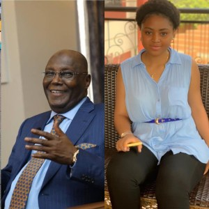 Actress, Regina Daniels Blasts Buhari As She Is Appointed As Atiku's Youth Campaign Coordinator (Photos)