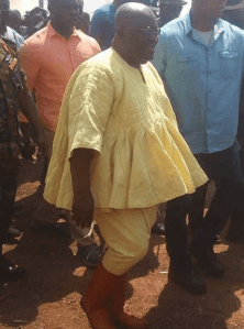 Check Out This Latest Outfit Worn By Ghanaian President, Nana Akufo Addo?