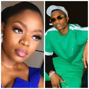 Wizkid's son and Bisola's daughter on a play date (Photo)