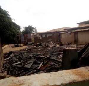 Church Set Ablaze After Pastor's Son Stabbed DJ To Death In Ibadan. (Photo)