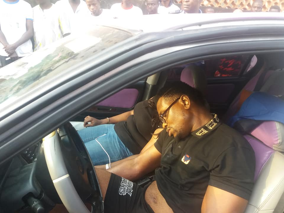 , Man And Woman Found Dead Inside A Car In Maryland, Lagos (Photos), Effiezy - Top Nigerian News & Entertainment Website