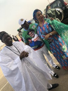 #PMBinKwara: Lai Mohammed, Amaechi And Gbemi Saraki Pictured Together (Photo)