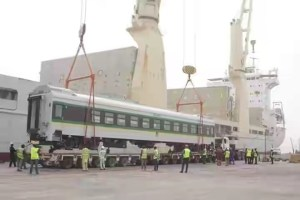 Pictures Of More Rail Couches Shipped Into Nigeria From China (Photos)