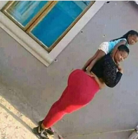, PHOTOS: Two Ladies Show Off Their God Given Assets, Effiezy - Top Nigerian News & Entertainment Website