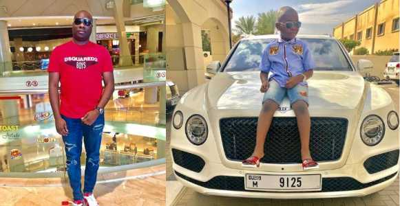 , Big Boy, Mompha reacts after being slammed for buying Bentley Bentayga for his son, Effiezy - Top Nigerian News & Entertainment Website