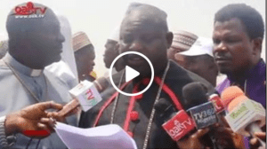 God Revealed That Buhari Is The Chosen One' – 1000 Clerics (Video)