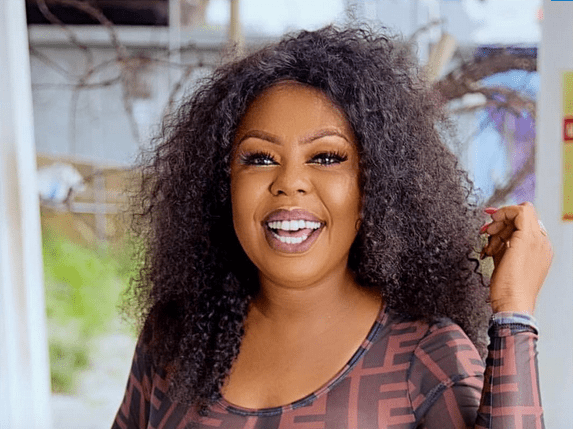 Ghanaian TV Personality, Afia Schwarzenegger Flashes Her N!pples To Celebrate 37th Birthday (Photo)