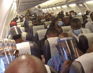 Social distancing is not observed in airplanes – Hadi Sirika