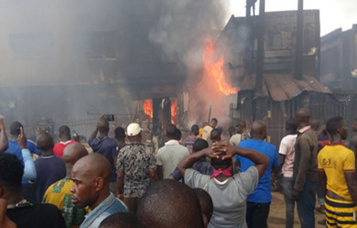 , Tanker explodes as 20 burnt to death in Delta., Effiezy - Top Nigerian News & Entertainment Website