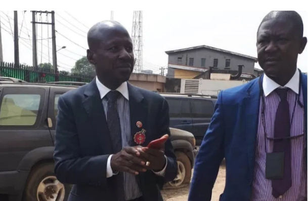 , Suspended EFCC Boss, Magu Released From Detention., Effiezy - Top Nigerian News & Entertainment Website