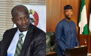 Magu finally clears air on N4bn allegedly given to Osinbajo.
