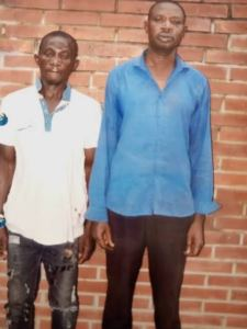 Burglars arraigned for stealing 33 bags of Rice.