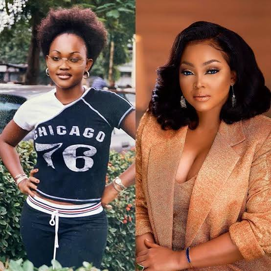 , What Mercy Aigbe looked like in year 2000 and now., Effiezy - Top Nigerian News & Entertainment Website