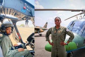 First female combat helicopter pilot passes away in Nigeria.