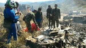 Plane crashes, kills 7 Security Personnel Onboard
