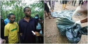 Rivers Police exhume three bodies buried alive in forest