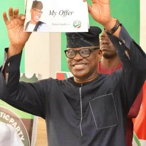 Jegede wins ticket to run for PDP primary election.