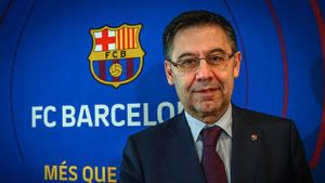 We have obligation to re-sign Messi' says Barcelona president.