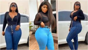Men with tall structures and dark complexion gets my attention – Nollywood actress Destiny Etiko reveals.