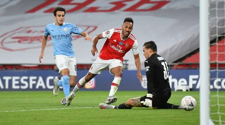 , Arsenal makes it to FA Cup final with Aubameyang's brace., Effiezy - Top Nigerian News & Entertainment Website
