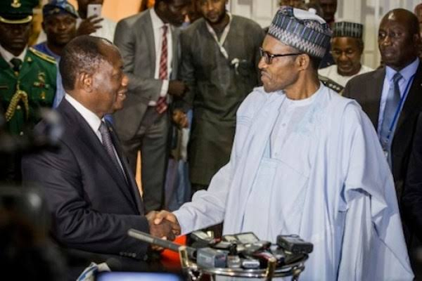 , Buhari sympathizes with President Ouattara over minister's death, Effiezy - Top Nigerian News & Entertainment Website
