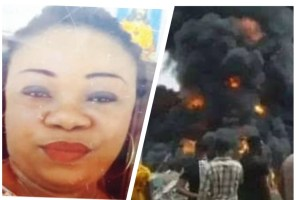 Cultist kills Woman with a machete as angry Imo youths set houses ablaze over woman's death.