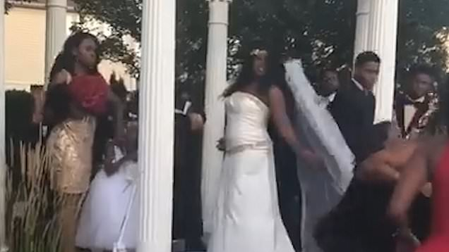 Woman Crashes Wedding, Claiming Groom Is Her Baby's Father (video)