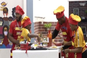 BBNaija: 14 housemates won N4 million in cooking challenge